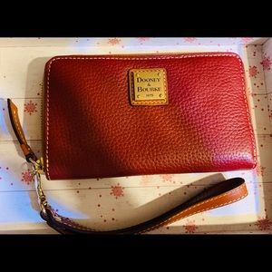 Dooney & Bourke wristlet wallet.